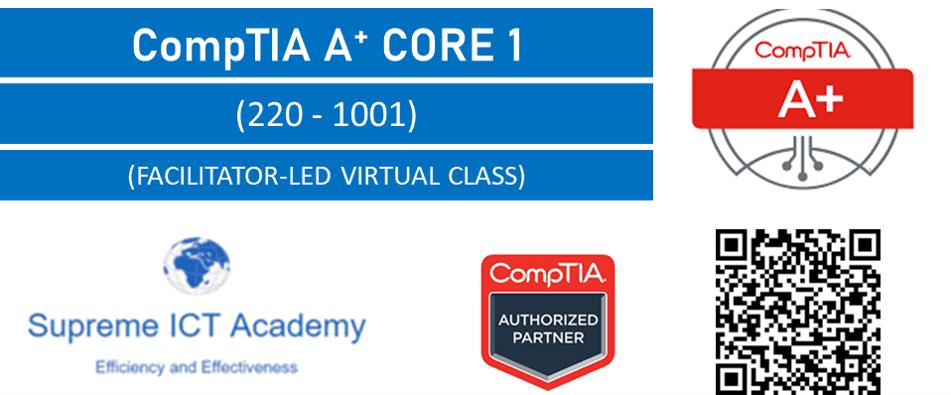 CompTIA A+ Core 1 (220-1001)  Bundles on offer
