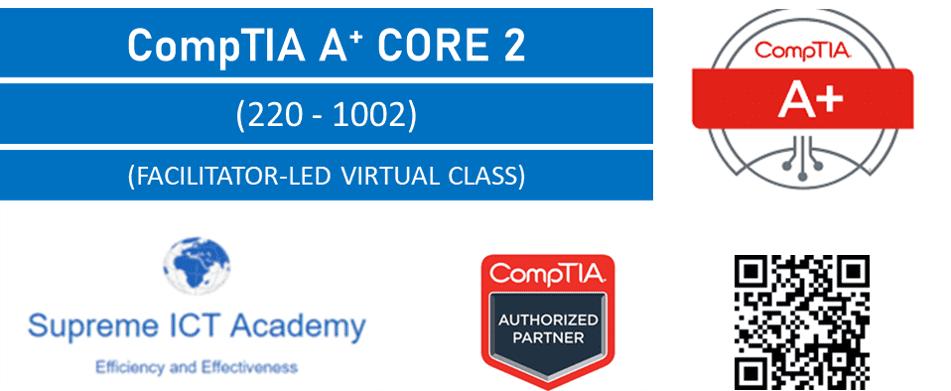 CompTIA A+ Core 2 (220-1002) Bundles on Offer